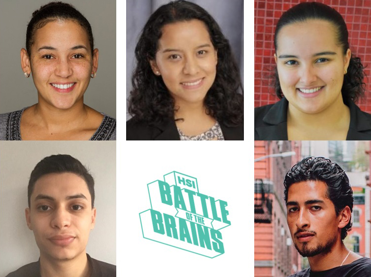 Rutgers-Newark students go to inaugural HSI Battle of the Brains.