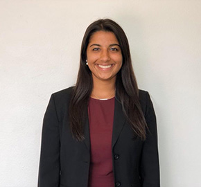Rutgers Business School senior Kaelyn Patel