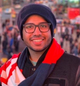 Graduate student Shaun Gilson