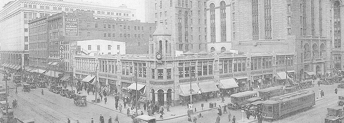 Historic Market St., Downtown Newark, 1925