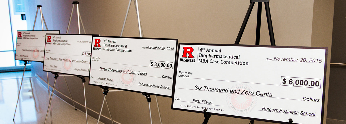 Novelty checks for the 4th annual biopharmaceutical MBA case competition