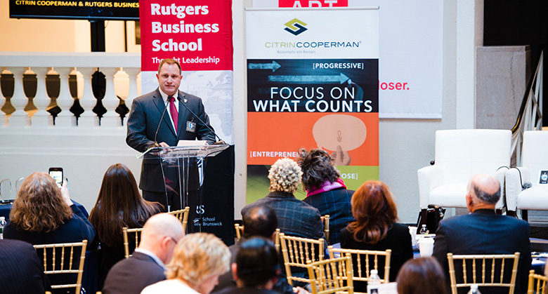Rutgers Business School and Citrin Cooperman annually award