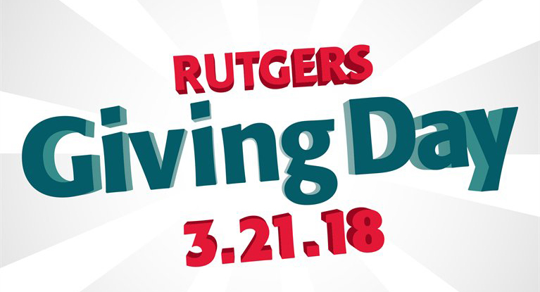 Make an impact on Rutgers Giving Day