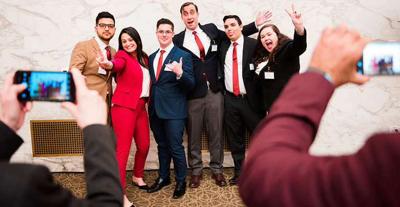 County College of Morris captured third prize at the New Jersey County College Case Competition at Rutgers Business School.