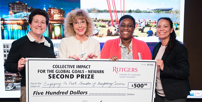 Rutgers Institute for Corporate Social Innovation holds a competition.