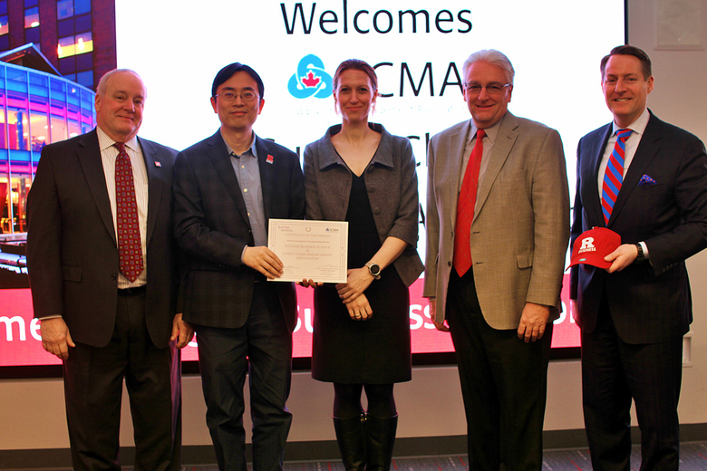 Rutgers MBA in Supply Chain Management and SCMA Partnership