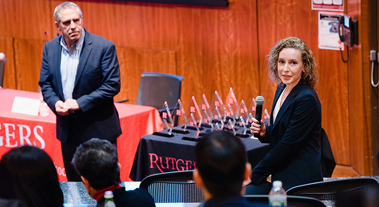 The Rutgers biopharmaceutical case competition is known for having a relevant case at the heart of the competition.