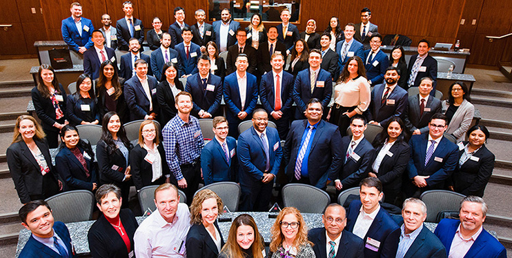 Rutgers Business School's annual biopharmaceutical case competition attracted MBA students from around the world.