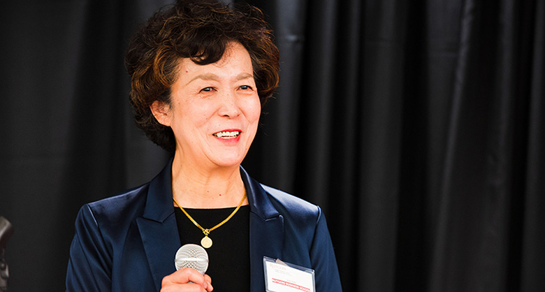 Rutgers Business School Dean Lei Lei.
