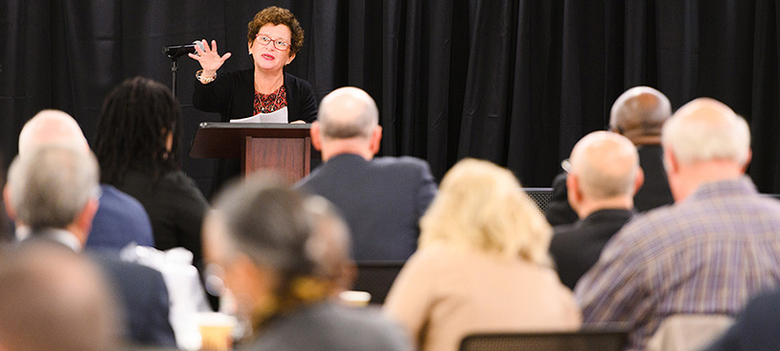 Rutgers University Newark Chancellor Nancy Cantor