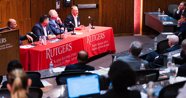 The Lerner Center's annual healthcare symposium at Rutgers Business School included a discussion about the future of healthcare by a panel of industry experts.