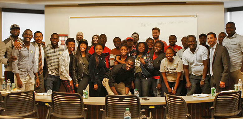 Mandela Fellows at Rutgers Business School-Newark.