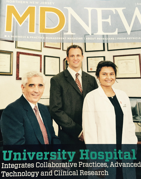 Rutgers EMBA Doctors setting the trend