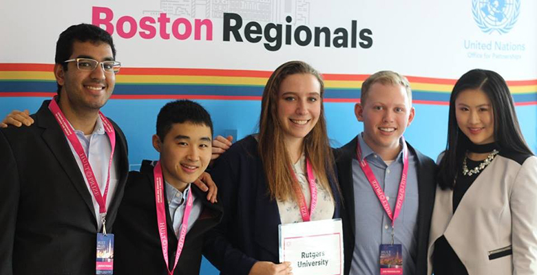 Team Sulis won the Hult Prize Challenge, Boston Regional