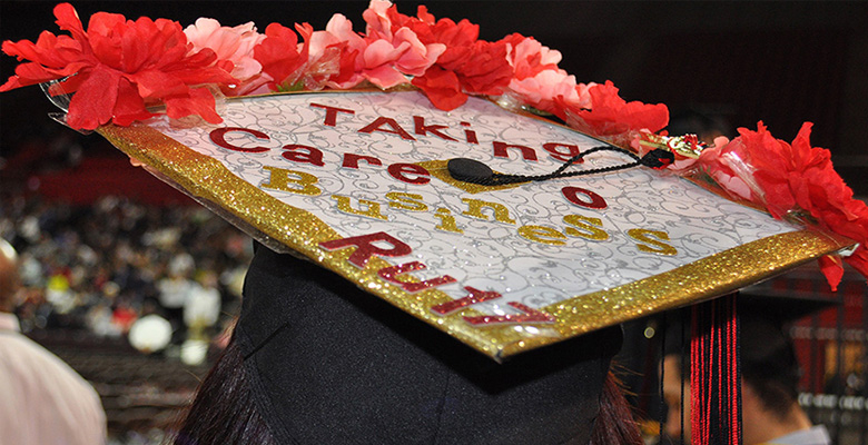 More than 800 students graduated as part of Rutgers Business School's Class of 2017.