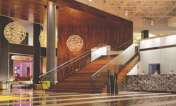 Lobby of the Hyatt Regency