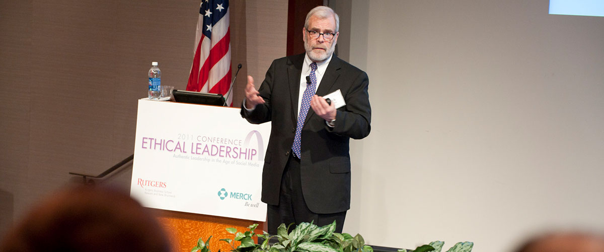 Speaker at Institute for Ethical Leadership event.