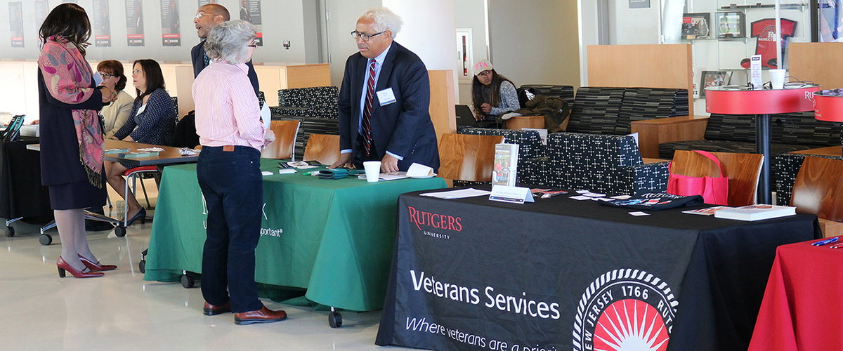 Veterans at Rutgers-Newark