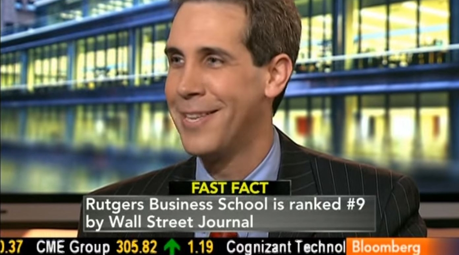 Rutgers Business School Finance & Economics Professor John Longo appears on Bloomberg