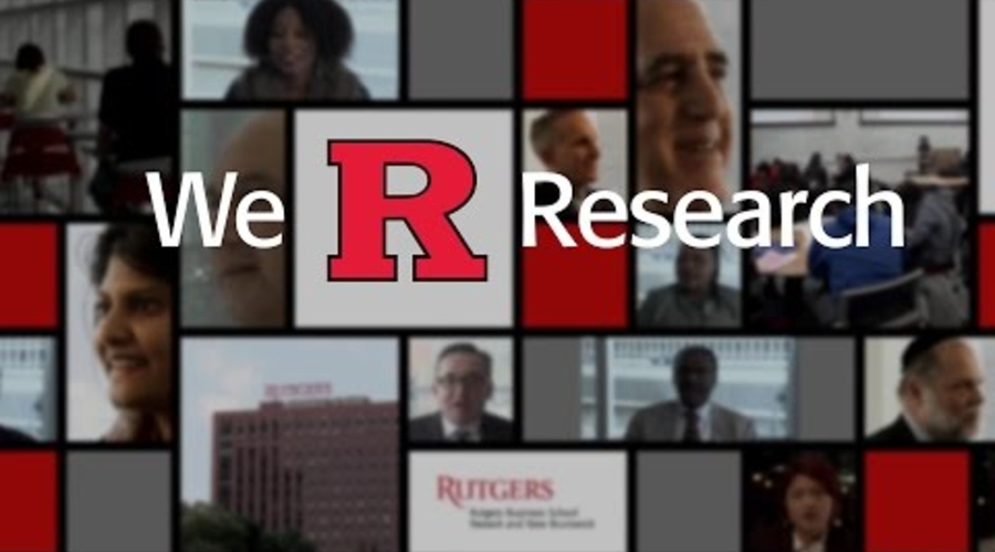 Video: Advancing research at Rutgers Business School